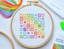 Load image into Gallery viewer, Cross Stitch for Beginners Squares
