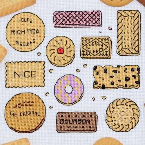 Biscuits Sampler Cross Stitch Kit