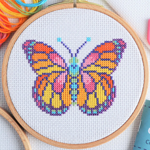 Cross Stitch for Beginners Butterfly