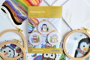 Christmas Trio Cross Stitch Kit