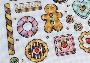 PDF Pattern for Cookies Sampler