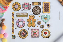 Load image into Gallery viewer, PDF Pattern for Cookies Sampler