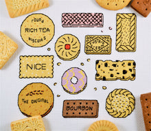 Load image into Gallery viewer, Biscuits Sampler Cross Stitch Kit