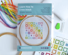Load image into Gallery viewer, Cross Stitch for Beginners Squares - Perfect for Teens and Adults