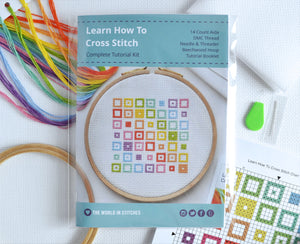 Cross Stitch for Beginners Squares - Perfect for Teens and Adults