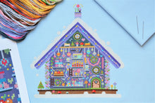Load image into Gallery viewer, Fairy Cottage Cross Stitch Kit