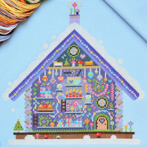 Fairy Cottage Cross Stitch Kit