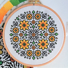 Load image into Gallery viewer, PDF Pattern for Flower Mandala