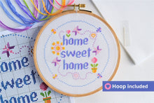 Load image into Gallery viewer, Home Sweet Home Cross Stitch Kit
