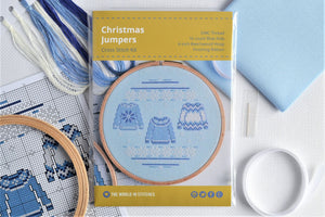 Christmas Jumpers Cross Stitch Kit