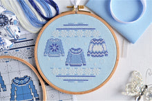 Load image into Gallery viewer, Christmas Jumpers Cross Stitch Kit