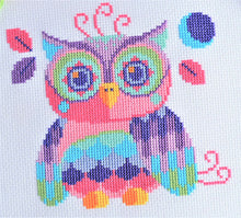 Load image into Gallery viewer, Florence the Owl Cross Stitch Kit