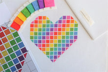 Load image into Gallery viewer, PDF Pattern for Rainbow Heart
