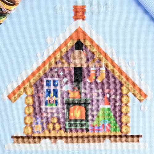 PDF Pattern for Santa's Cosy Cabin