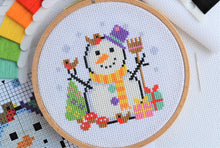 Load image into Gallery viewer, Christmas Trio Cross Stitch Kit
