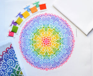 PDF Pattern for Spectral Mandala