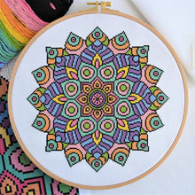 Load image into Gallery viewer, PDF Pattern for Statement Mandala