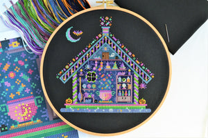 Witches' Hideout Cross Stitch Kit