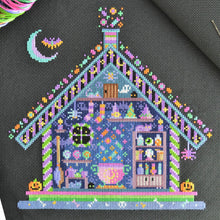 Load image into Gallery viewer, Witches' Hideout Cross Stitch Kit