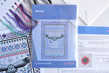 Load image into Gallery viewer, Winter Cross Stitch Kit