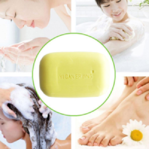 Yiganerjing Sulfur Soap Bar - Face and Body Soap with Sulfur and Minerals From the Dead Sea