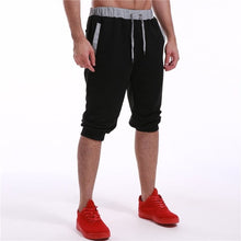 Load image into Gallery viewer, 2018 Calf-Length Shorts Men Fashion Brand Clothing Gyms Joggers Short Sweatpants Male Casual Shorts Tracksuit Trousers S-2XL