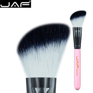 JAF Angled blush brush synthetic hair brand name makeup brush beveled brush Free Shipping 12SWA
