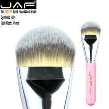 Load image into Gallery viewer, JAF Kabuki Liquid Foundation Brush for Face Makeup Beauty Straight Taklon Synthetic Tri-Color Hair Pressed Round Tip 18STYF