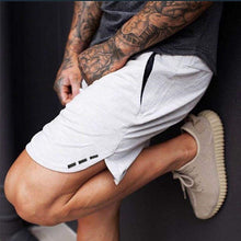 Load image into Gallery viewer, New Fashion Men Sporting Beaching Shorts Trousers Cotton Bodybuilding Sweatpants Fitness Short Jogger Casual Gyms Men Shorts 3XL
