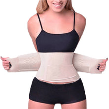 Load image into Gallery viewer, Slimming Belt Trainer - Nude & Black