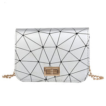 Load image into Gallery viewer, Womens Fashion Leather Crossbody Bag Splice Shoulder Bags Messenger Bag