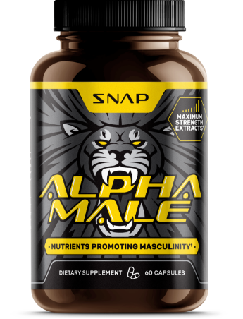 ALPHA MALE - 60 Herbal Capsules