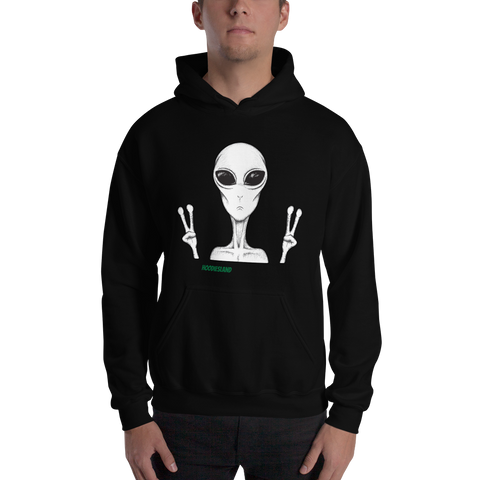 AlienPeace Hooded Sweatshirt