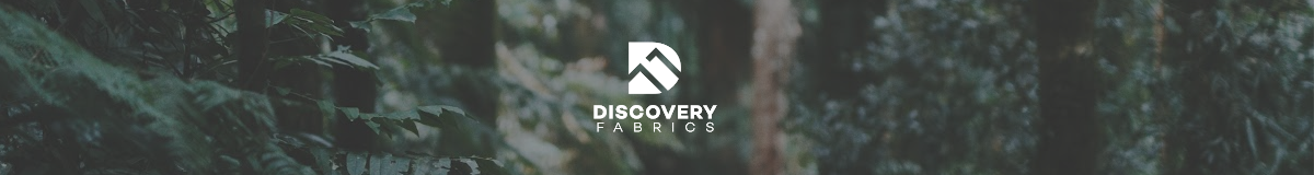 DISCOVERY FABRICS OUTDOOR FABRIC LOGO