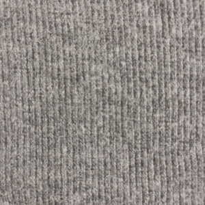 Bamboo Rib Fabric Tubular Heather Slate