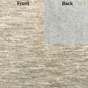 Grey Mix Bamboo Fleece Fabric