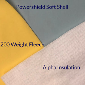 Mitten Pack Fabrics Soft Shell Fleece Alpha