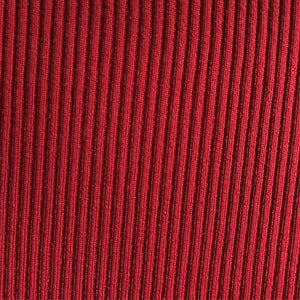 Rust Berry Soft, Comfortable Rib Trim Fabric