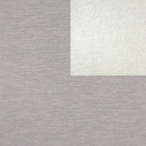 Bamboo Fleece Fabric Heather Granite