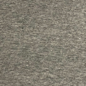 Heather Cement Bamboo French Terry Fabric