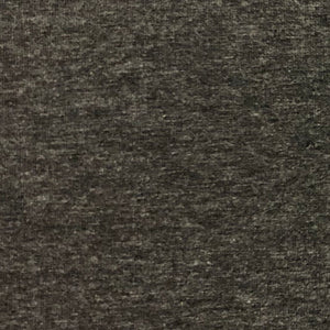 Bamboo French Terry Fabric Heather Charcoal