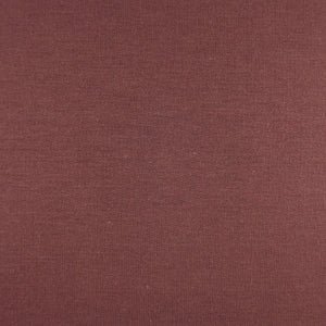 Bamboo French Terry Fabric Smokey Rose