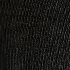 Black Hacci Mid Weight Sweater Knit Fabric