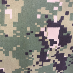 digital camo print neoshell fabric with tricot back