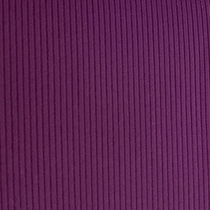 Fig, Soft, Comfortable Rib Trim Fabric