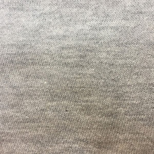 Ash Grey French Terry Athletic Fabric