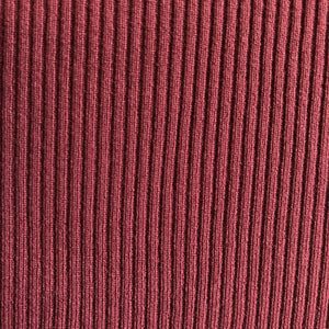 Malbec Soft, Comfortable Rib Trim Fabric