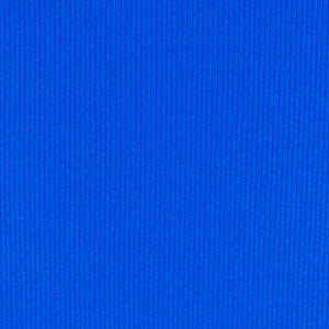 Midnight Blue Soft, Comfortable Rib Trim Fabric