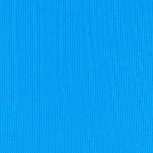 Pacific Blue Soft, Comfortable Rib Trim Fabric