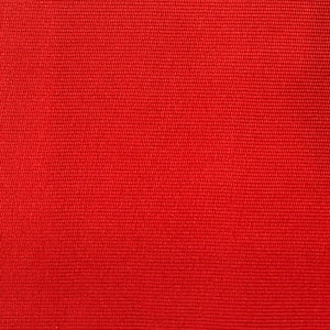 red rugged rib fabric